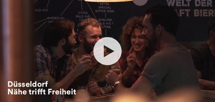 Düsseldorf Werbeclip Videokampagne Altstadt Altbier
