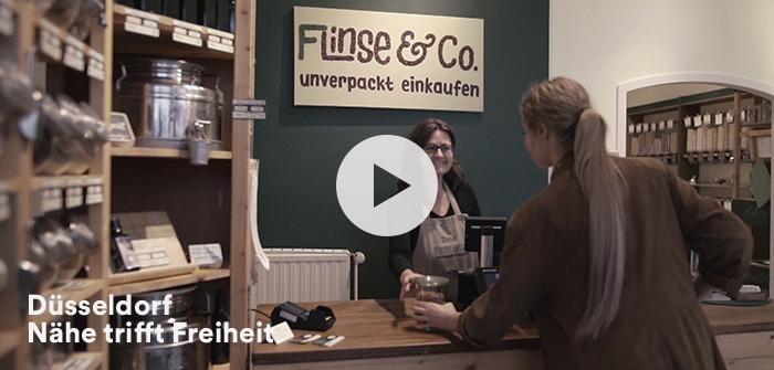 Düsseldorf Videokampagne Imagefilm Werbeclip Boutiquen Shopping Bilk Flingern